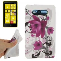 Чехол Цветочки для Nokia Lumia 820