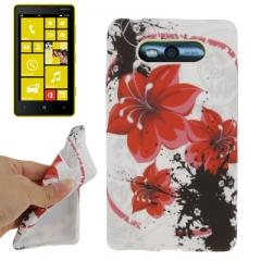 Чехол Цветы для Nokia Lumia 820