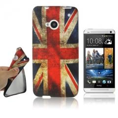 Чехол силиконовый Британский Флаг для HTC One