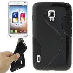 Чехол силиконовый для LG Optimus L7 2 черный