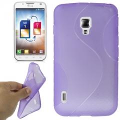 Чехол силиконовый для LG Optimus L7 2 фиолетовый