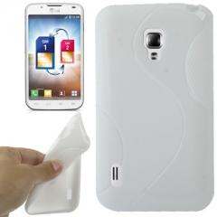 Чехол силиконовый для LG Optimus L7 2 белый