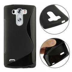 Чехол силиконовый для LG G3 черный