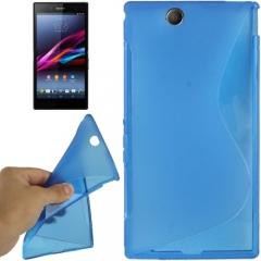 Чехол силиконовый для Sony Xperia Z Ultra синий
