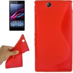 Чехол силиконовый для Sony Xperia Z Ultra красный