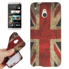 Силиконовый чехол для HTC One Mini Британский флаг