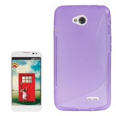Чехол силиконовый для LG L70 фиолетовый