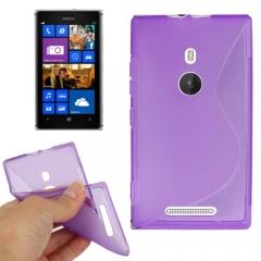 Чехол силиконовый для Nokia Lumia 925 фиолетовый