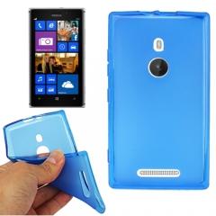 Чехол силиконовый для Nokia Lumia 925 синий