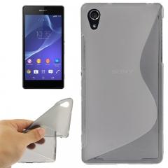 Чехол силиконовый для Sony Xperia Z2 серый