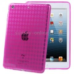 Силиконовый чехол для iPad Mini малиновый