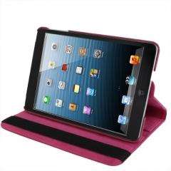 Чехол для iPad mini 360* малиновый