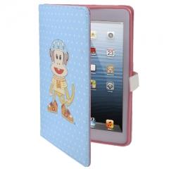 Чехол Paul Frank для iPad Mini с обезьянкой голубой