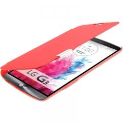 Чехол книжка для LG G3 красный