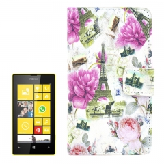Чехол книжка Париж для Nokia Lumia 520