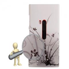 Чехол Узор для Nokia Lumia 920 со стразами