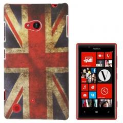 Чехол для Nokia Lumia 720 Британский флаг