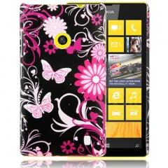 Чехол для Nokia Lumia 520 Бабочки