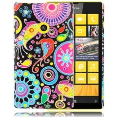 Чехол для Nokia Lumia 520 с Узором