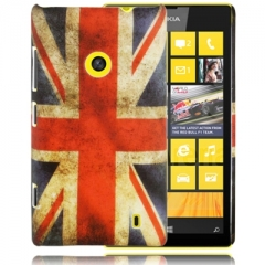 Чехол для Nokia Lumia 520 Британский флаг