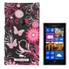Чехол Бабочки для Nokia Lumia 925
