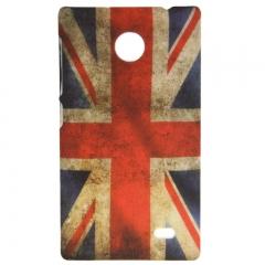 Чехол для Nokia Lumia X Британский флаг