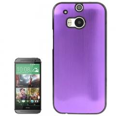 Чехол металлический для HTC One M8 фиолетовый