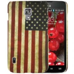 Чехол для LG Optimus L7 2 Американский флаг