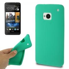 Чехол силиконовый для HTC One зеленый