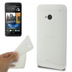 Чехол силиконовый для HTC One белый