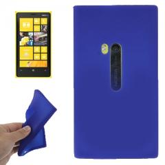 Чехол силиконовый для Nokia Lumia 920 синий