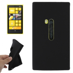 Чехол силиконовый для Nokia Lumia 920 черный