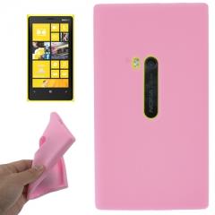 Чехол силиконовый для Nokia Lumia 920 розовый