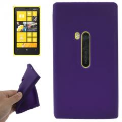 Чехол силиконовый для Nokia Lumia 920 фиолетовый