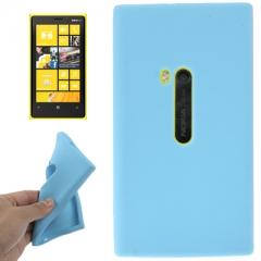 Чехол силиконовый для Nokia Lumia 920 голубой
