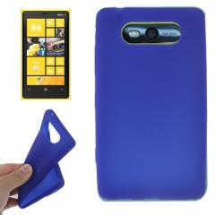 Чехол силиконовый для Nokia Lumia 820 синий