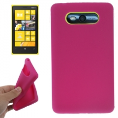 Чехол силиконовый для Nokia Lumia 820 малиновый