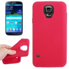 Чехол силиконовый для Samsung Galaxy S5 красный