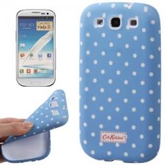 Силиконовый чехол Cath Kidston для Samsung Galaxy S3 голубой