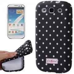 Силиконовый чехол Cath Kidston для Samsung Galaxy S3 черный