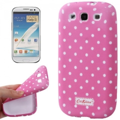 Силиконовый чехол Cath Kidston для Samsung Galaxy S3 розовый