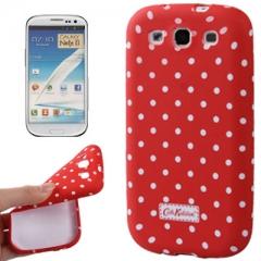 Силиконовый чехол Cath Kidston для Samsung Galaxy S3 красный