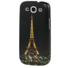 Чехол для Samsung Galaxy S3 Эйфелева Башня черный