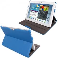 Чехол - книжка для Samsung Galaxy Tab 2 (10.1) синий
