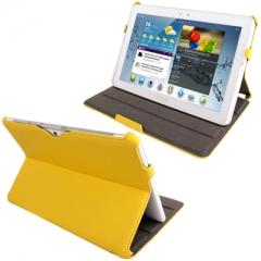 Чехол - книжка для Samsung Galaxy Tab 2 (10.1) желтый