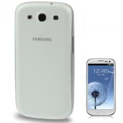 Силиконовый чехол для Samsung Galaxy S3 белый