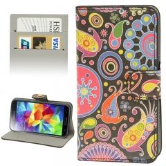 Чехол книжка для Samsung Galaxy S5 Mini Узор