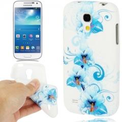 Чехол цветочки для Samsung Galaxy S4 Mini