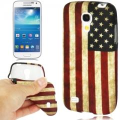Чехол Американский флаг для Samsung Galaxy S4 Mini