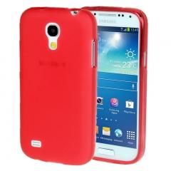 Чехол силиконовый для Samsung Galaxy S4 mini красный